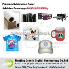 100gsm mugs sublimation transfer paper, mugs transfer paper