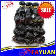 No chemical Steam processed human hair natural virgin brazilian hair weavon