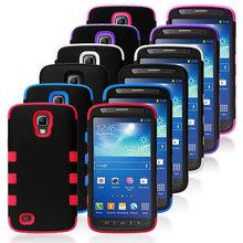 Fishbone Hybrid Phone Cover Skin Case for Samsung Galaxy S4 i9500