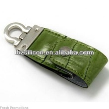 Promotional gift USB flash drive ,leather usb stick ,usb stick leather