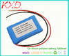 small 12v lithium polymer battery 2000mah 634169 3s