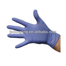 Purple nitrile gloves for beauty salon beauty industry