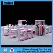 factory price cloth shop interior design ideas