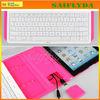 Rotatable 360 degree bluetooth keyboard case for ipad mini