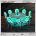 glow casamento cadeira de acrílico móveis