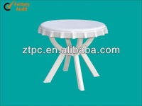 outdoor plastic beer table with umbrella hole