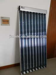 Pressurized Solar Collector with CPC reflector