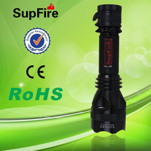 SupFire Y8 hunting torch light Using a 18650 with cree q5 led