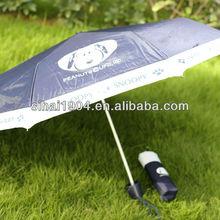 Shenzhen 2013 Snoopy carton brand gift and premium umbrella