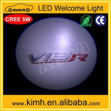 12V High quality Auto led car light with car logo led light logo projected