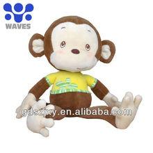 cute plush toy monkey