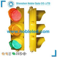 12v 8'' full aspects led Traffic Signal Lanterns with amber housing