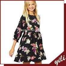 Hot Style Mini Length Floral Print cheap dresses