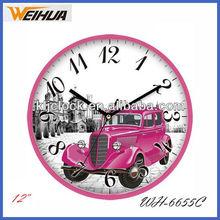 Cheap promotional wall clocks big size