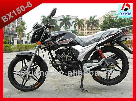 New Design 150CC Cheap Price Of Motorcycles in China Chongqing / Street Bike BX150-6