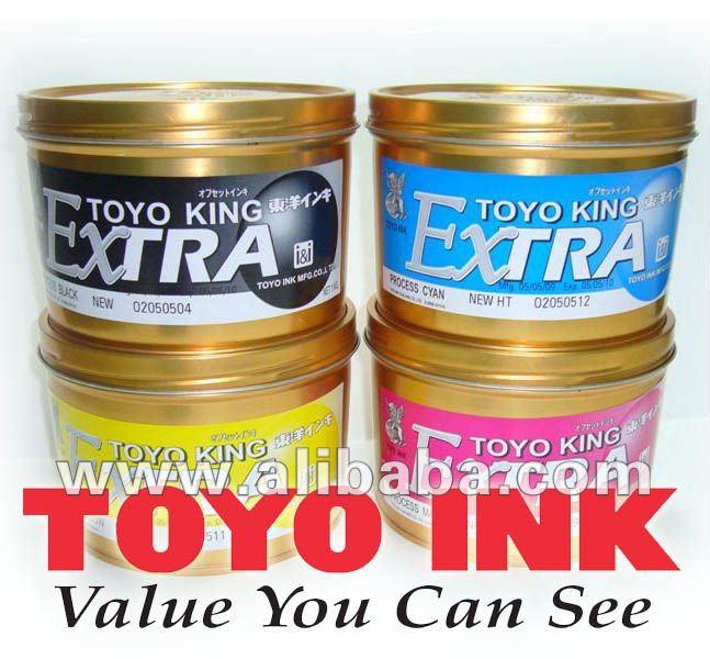 Tintas de Offset Toyo Ink TK HU NEO ERP
