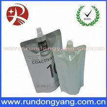 Stand Up Aluminum Foil Zipper Plastic Pouch