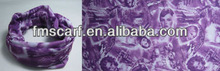2014 Fancy purple printing bandana Wholesale