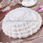 Eco-friendly Paper Doilies with all packing Table Paper Doilies Inch Paper Doilies