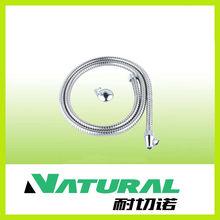 1.5 meter Stainless steel single-locked bidet toilet hose(CE)