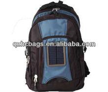 Motorcycle or School Recharge Solar Backpack