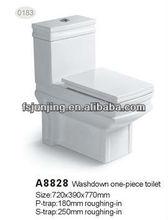 ceramic toilets one piece sanitaryware