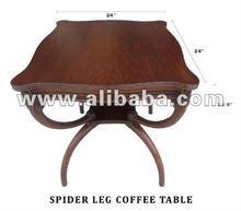 Spider leg table
