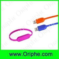 promotional wristband usb flash drive free sample gadgets usb custom usb bracelet