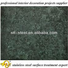 oxidised copper metal texture