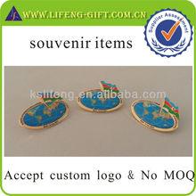 Custom badge pin souvenir items