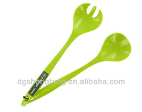 Kitchen Lime Melamine 2 Pc Salad Serving Spoon Fork Bbq Picnic Utensils