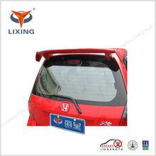 Fiber glass rear spoiler for honda fit hatchback roof spoiler for sale