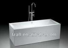 A1765 Acrylic Square Freestanding Bathtub