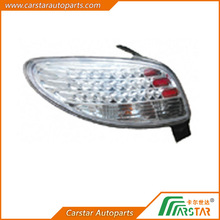 For Peugeot 206 auto parts Crystal LED tail lamp