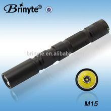 Mini Adjustable Length Aluminum LED Maglite Torches