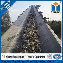 Easy maintenance acid resistant belt conveyor
