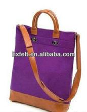 Eco Fashion Ladies Promotional Felt Tote Bag