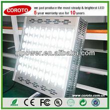 600w high lumen led tube light with Premium precise optical lens angle system for Soccer airport lighting
