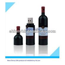 wine cork shape usb flash drive wine bottle