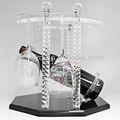 creative acrilico cremagliera del vino di moda vetro organico decorativi arredamento articoli contratto