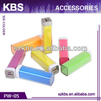 2013 Newest and Popular 5000 mah power bank With Portable power supply