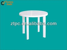 outdoor plastic table with removable legs round table