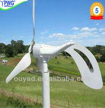 12V/24V Small Wind Power 300W For Family&Street Light