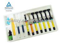Composite resin dental bonding