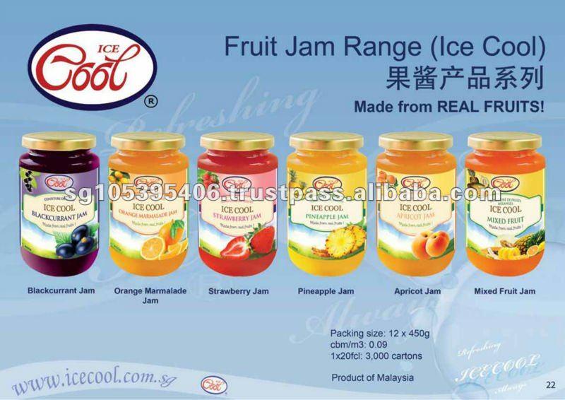 Mermelada de frutas ( 6 diferentes sabores )
