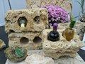 natural de toba de roca para el hogar y el jardín