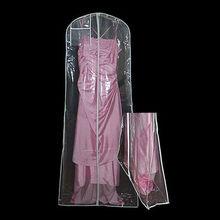 transparent wedding dress plastic covers