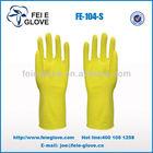 long household latex rubber household gloves