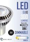 NEW LED SPOT 6.5W COB GU10 DELIGHT