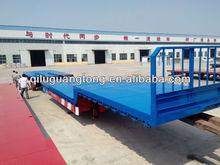 Drop Deck extendable semi-trailer heavy haulage extendable flat semi trailer